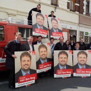 Wahlkampftreffen der Ortsvereine Bedburg
