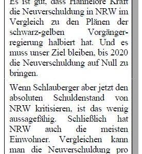 """Anzeige """"Solide Finanzen"""" in der Sonntags-Post vom 28.04.2012"""