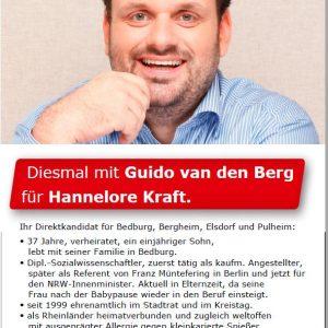 Vorstellung als Landtagskandidat