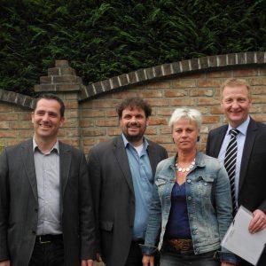 Ralf Zentis, Guido van den Berg, Susanne Göddenhenrich und Ralf Jäger