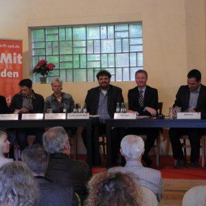 Florian Cremer, Senol Arslan, Susanne Göddenhenrich, Guido van den Berg, Ralf Jäger und Ralf Zentis