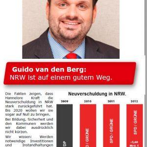 NRW ist auf gutem Weg - die Neuverschuldung sinkt