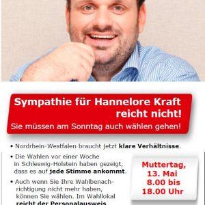 Anzeige in der Sonntagspost vom 12.05.2012