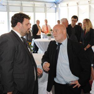 Guido van den Berg und Erwin Winkel