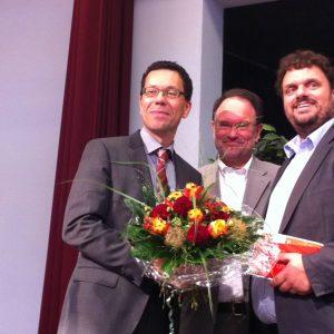 Diek Timm, Bernhard Hadel und Guido van den Berg