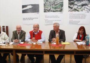 Runder Tisch Alt-Kaster mit Guido van den Berg MdL und Willi Kaiser