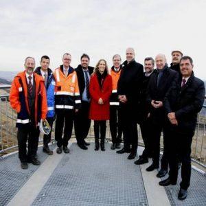 Minister Garrelt Duin besucht den RWE Tagebau Garzweiler