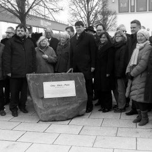 Benennung Otto-Wels-Platz in Wesseling
