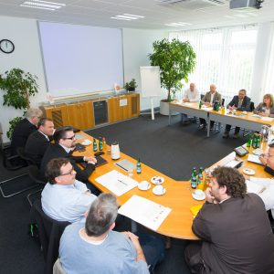 SPD-AK tauscht sich im Chemiepark Dormagen mit Betriebsräten aus