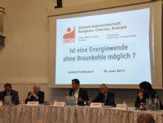 IGBCE Podiumsdiskussion Bergheim Paffendorf