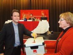 Johannes Stracke auf dem Kreisparteitag