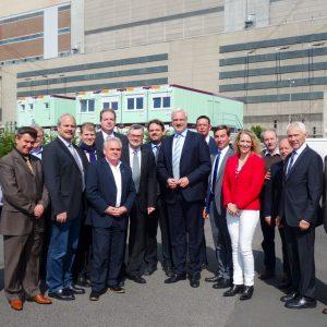 Betriebsräte mit Minister Garrelt Duin und der Führung der SPD Rhein-Erft
