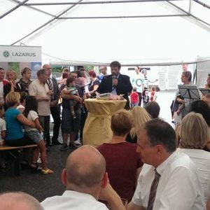 Eröffnung des Lazarus-Hauses in Bergheim