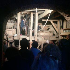 Veranstaltung in der Brauweiler Mühle zur dritten Erzählreise im Rhein-Erft-Kreis
