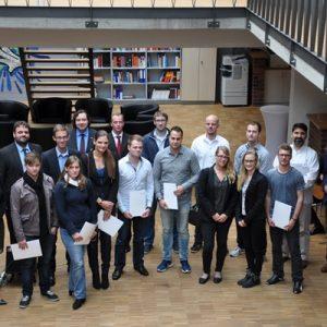 Neue Studierenden auf der Immatrikulationsfeier der FHM tec Pulheim