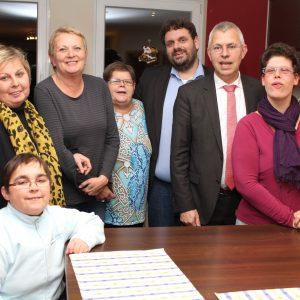 NRW-Behindertenbeauftragter Norbert Killewald besucht CuraCon Wohnprojekt in Bergheim