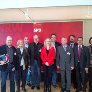 Treffen der SPD mit dem Gesamtbetriebsrat der RWE Power AG