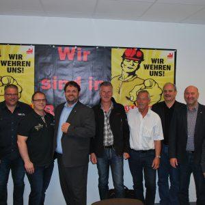 Klaus Krützen (SPD), Jürgen Linges (BR), Klaus Emmerich (BR),Guido van den Berg MdL, Michael Bochinsky (BR), Manfred Holz (BR), Dieter Faust (BR),Rainer Thiel MdL, Ismail Tekin (BR)
