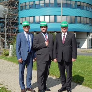 Jörg Vieweg MdL, Thomas Baum MdL und Guido van den Berg