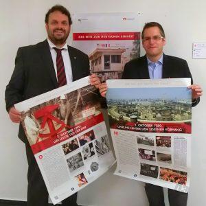 Guido van den Berg MdL und Bürgermeister Sascha Solbach