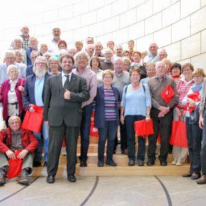 Geschichtsverein Bedburg zu Gast beim Landtagsabgeordneten Guido van den Berg