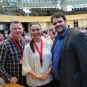 Michael Kremer, Julia Weitz, Guido van den Berg MdL