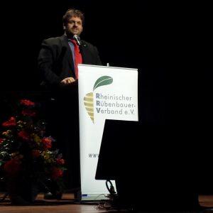 Guido van den Berg MdL beim Rheinischen Rübenbauernverband
