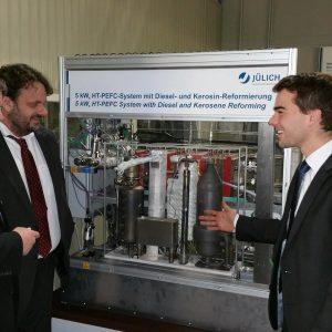 Andreas Rimkus MdB, Guido van den Berg MdL und Dr. Martin Robinius