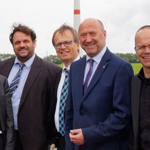 Dr. Lars Kulik, Guido van den Berg, Michael Eyll-Vetter, Rainer Thiel MdL und Frank Sundermann MdL
