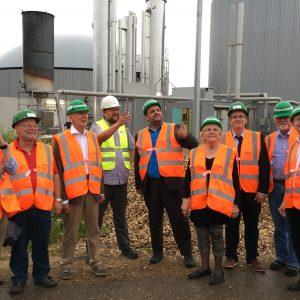 Arbeitskreis IRR der SPD in der Biogasanlage Paffendorf