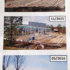 Bau des Biotechnikum von Pfeifer & Langen in Elsdorf