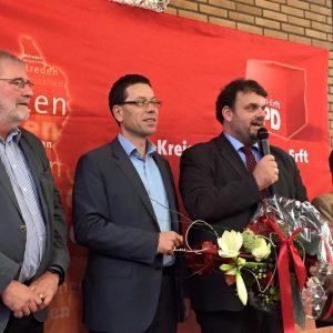 Ingpeer Meyer, Dierk Timm, Guido van den Berg MdL und Marlies Stroschein