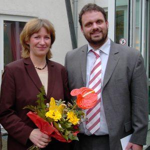 Birgit Fischer und Guido van den Berg