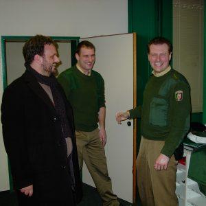 Guido van den Berg in der Polizeiwache Bergheim