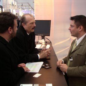 Stand von Siewert & Kau auf der CeBit 2005