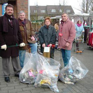 Frühjahrsputzaktion der SPD-Sinnersdorf