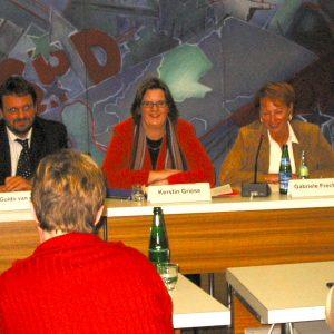 Guidovan den Berg, Kerstin Griese und Gabriele Frechen