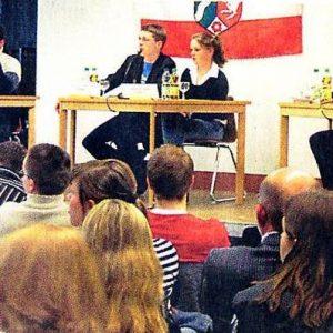 Podiumsdiskussion Scholl-Gymnasium Pulheim