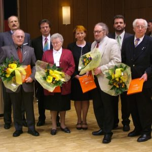 Langjährige Mitglieder der SPD-Elsdorf wurden geehrt.