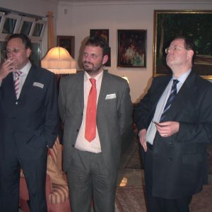 Hardy Fuß, Guido van den Berg, Peer Steinbrück
