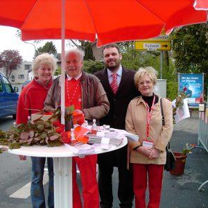 SPD-Stand in Geyen
