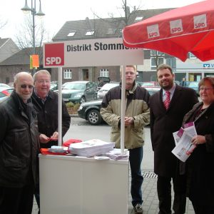 SPD-Stand in Stommeln