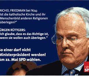 Jürgen Rüttgers und das christliche Menschenbild