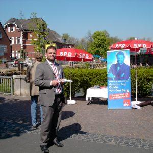 Info-Stand in Bergheim