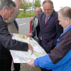 NRW-Verkehrsminister Dr. Horstmann in Pütz