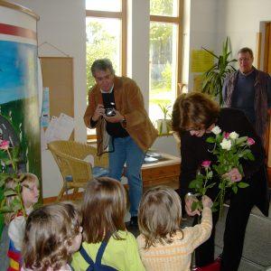 Ute Schäfer im AWO-Kindergarten Lipp