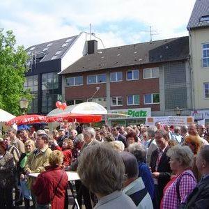 400 Menschen bei Müntefering in Bergheim