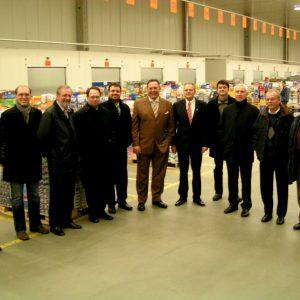 Der SPD-Kreisvorstand besucht das Plus-Logistikzentrum in Kerpen