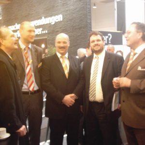 Klaus Lennartz (SPD), Markus Pätz (IDAP), Walter Poensgen (IDAP), Guido van den Berg (SPD) und Hardy Fuß (SPD)
