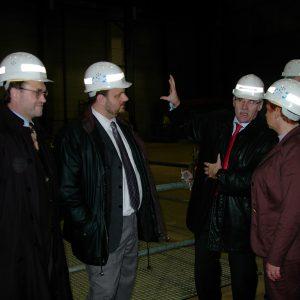 Besuch im BoA-Kraftwerk der RWE in Niederaußem am 07.02.2004